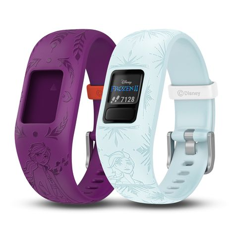 Keep kids active with this fun Disney's Frozen II Vivofit Jr. 2 Bundle Kids Fitness Tracker by Garmin. Fitness Tracker, Atm Bank, Disney Frozen 2, Best Friends For Life, Thing 1, Exercise For Kids, Learning Resources, Burn Calories, Cool Style
