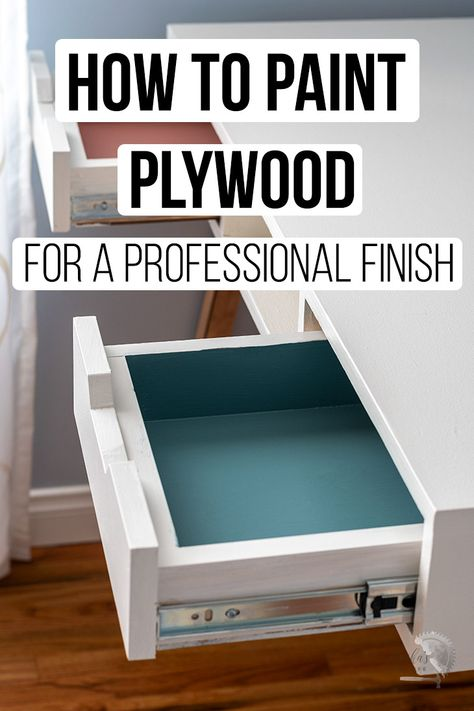 Diy Home Furniture, Paint Furniture, Furniture Projects, Woodworking Projects Diy, Diy Wood Projects, Woodworking Plans, Popular Woodworking, Painting Plywood, Diy Painting