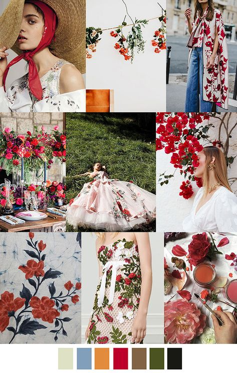 JUNE BLOOM JUNE BLOOM – color, print & pattern trend inspiration for Spring / Summer 2019 by Pattern Curator.Pattern Curator is a trend service for color, print and pattern inspiration.