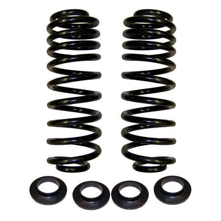 Rear Air Spring to Coil Spring Conversion Kit Compatible with 2003-2009 Hummer H2