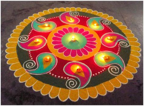 Diwali Rangoli 2018: Decorate your home with Easy Rangoli