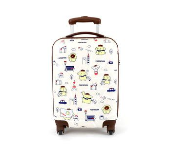 """Pompompurin 20"""" Rolling Suitcase: Travel"""