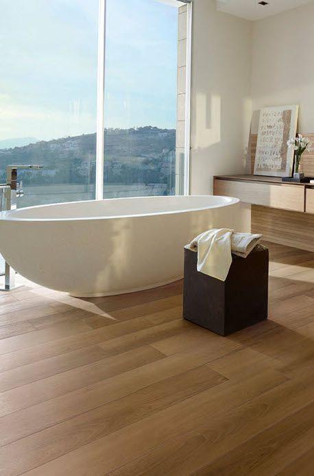 Goede Caesar Life Walnutt (met afbeeldingen) | Houten vloer badkamer HP-46
