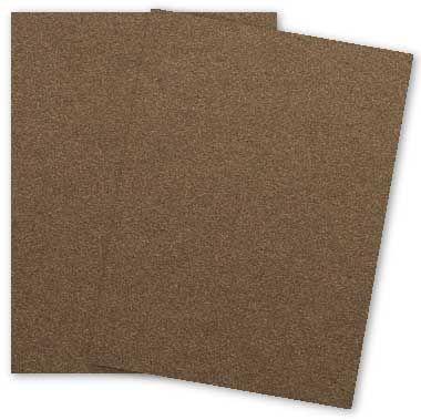 Stardream Metallic 12x18 Card Stock Paper Bronze 105lb Cover 284gsm 100 Pk In 2021 Cardstock Paper Metallic Paper Legal Size Paper