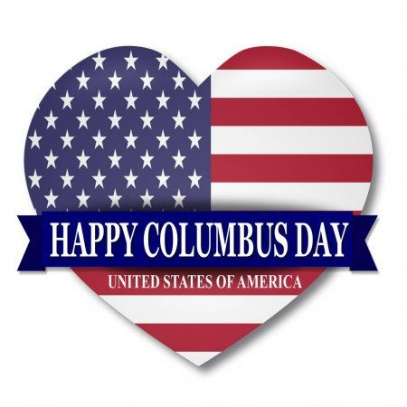 Columbus Day Web Banner Template Poster Usa Flag Stock Vector Ad Banner Template Web Columbus Ad I 2020
