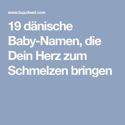Dänische Namen
