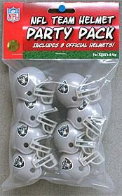 Riddell Gumball Helmet Party Pack Set of 8 helmet. These helmets measure in size approx. 2 inches x 1.5 inches. This is an officially licensed product. 9585533023/95855330235/_b_