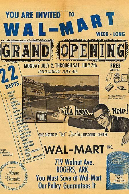 Walmart S First Ever Ad Vintage Ads Old Advertisements Old Ads