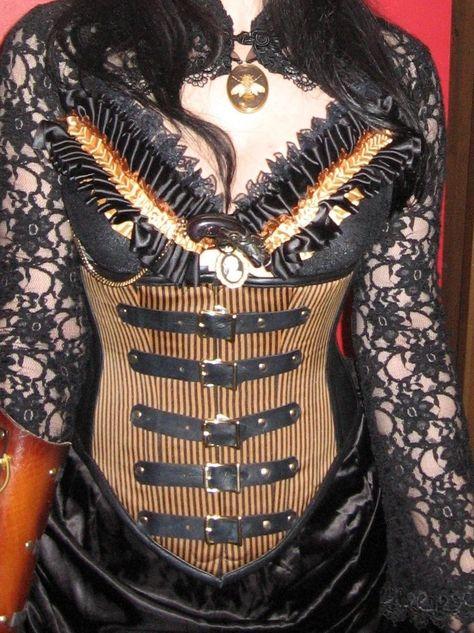 Steampunk Saloon Gal, Wild Wild West