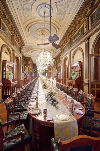 The Longest Dining Table In The World. Legend Has It That Thereu0027s No  Whisper Unheard