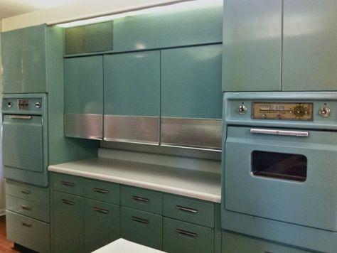 Vintage Metal Kitchen Cabinets For Sale   Home Design Ideas ...