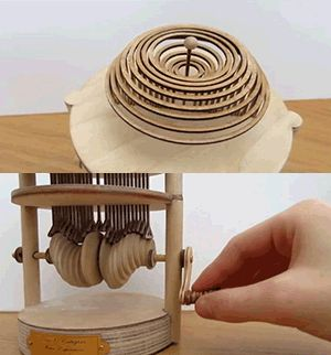 I saw this and immediately thought it should go here. Can't say that I'll make one, but it shows some interesting mechanics and gets the creative juices flowing for sure!   [image]