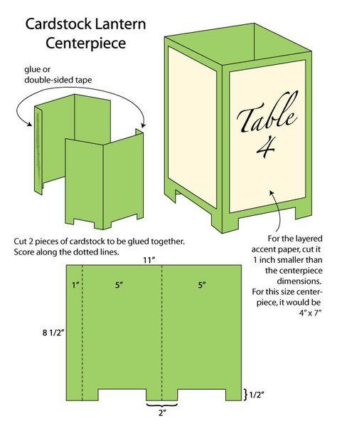 Paper Lantern Template