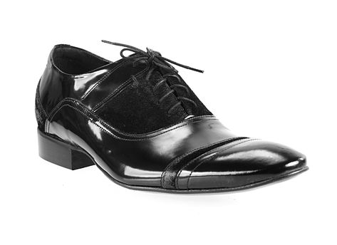 39bf8ba7c1 Pánské kožené boty černé barvy comodo e sano - manozo.cz