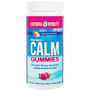 Natural Calm Gummies Raspberry Lemon 120 The Vitamin Shoppe Natural Calm Calm Magnesium Natural Calm Magnesium