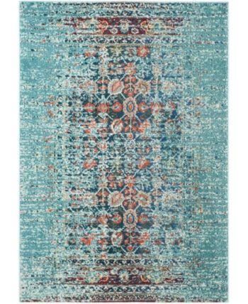 Safavieh Monaco Blue And Multi 10 X 14 Area Rug Reviews Rugs Macy S Blue Area Rugs Rugs In Living Room Area Rugs