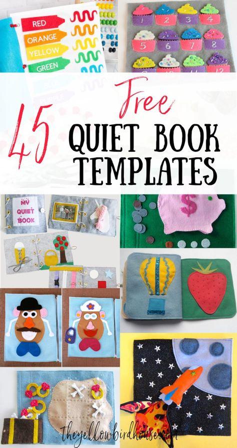 Diy Busy Books, Diy Quiet Books, Baby Quiet Book, Felt Quiet Books, Diy Craft Books, Quiet Book For Toddlers, Baby Books, Quiet Book Templates, Quiet Book Patterns