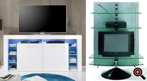 Tv schrank modern  TV Schrank, Rack & Board - weiß, schwarz, rot - modern & hochglanz ...