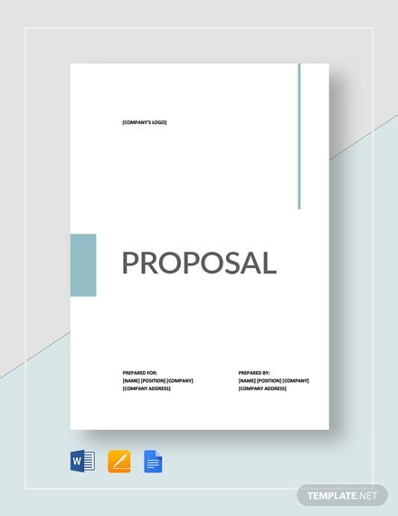 Sample Proposal Template In 2020 Business Proposal Template Proposal Templates Free Proposal Template