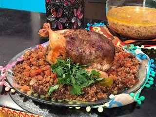 دجاج محشي بالأرز على الطريقة المصرية Food Chicken Turkey