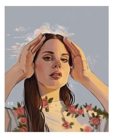 Lana Del Rey Tumblr Lana Del Rey Art Lana Del Rey Lana Del