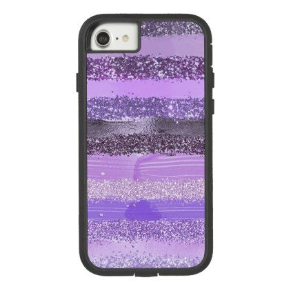 Brushstroke Glitter Trendy Girly iphone case