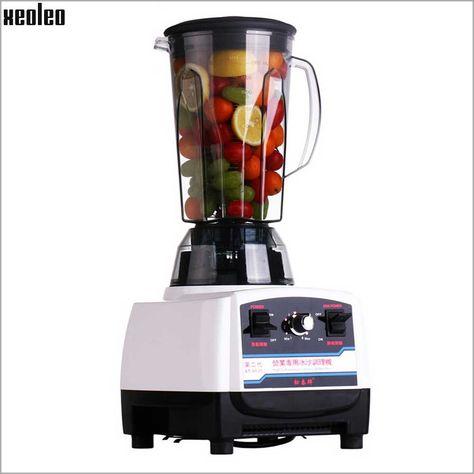 xeoleo commercial food blender 3hp blender 2l food mixer 110v 220v food machine juice blend mixer smoothie maker eu au us plug home appliances pinterest