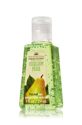 Fresh Picked Heirloom Pear Pocketbac Sanitizing Hand Gel Anti