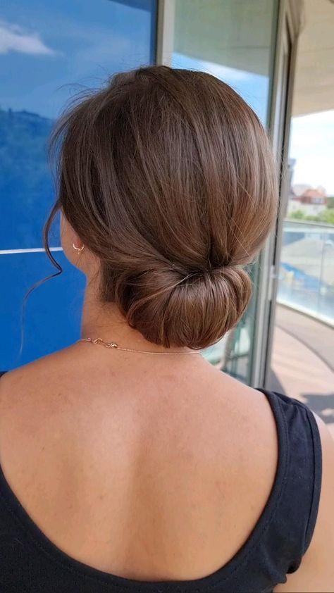 chic wedding hair