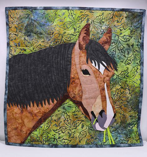 16 pferde quiltideen  pferde quilt quilt kunstquilt