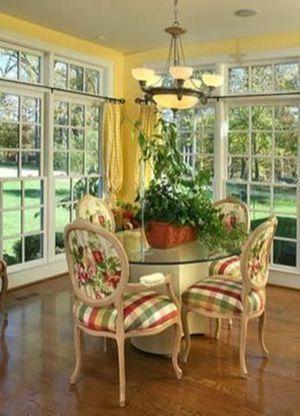 30 Elegant French Country Cottage Decoration Ideas Comedores De