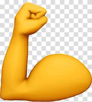 Emoji Domain Biceps Arm Muscle Emoji Transparent Background Png Clipart In 2020 Clip Art Facepalm Emoticon Emoji