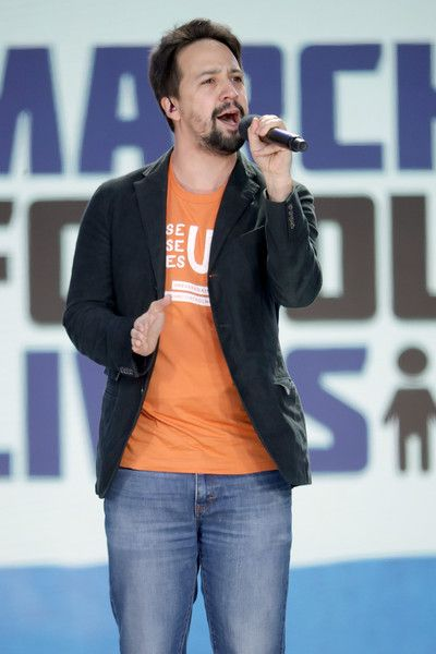 Lin-Manuel Miranda performs 'Found/Tonight' during the March for Our Lives rally on March 24, 2018 in Washington, DC.