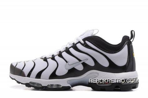 27e20d4972 Nike Air Max Plus TN Ultra Running Shoes White Black 898015-101 Men's NEW  Best