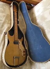 Vintage rare 50's multivox premier electric guitar gold project repair as-is