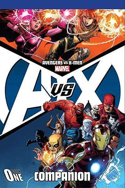 Check Out Avengers Vs X Men Companion Book One On Marvel Avengers X Men Marvel