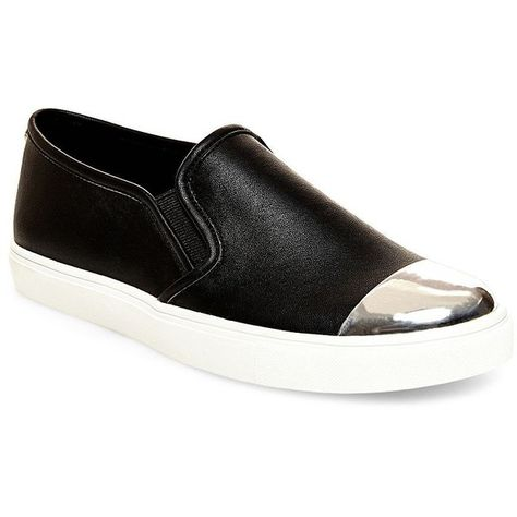 ff8c1ae82bd Steve Madden Eleete Slip-On Sneakers ( 69) ❤ liked on Polyvore featuring  shoes