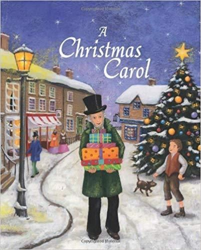 A Christmas Carol Retold By Gaby Goldsack Illustrated By Carolina Pedler Christmas Carol Christmas Books Christmas