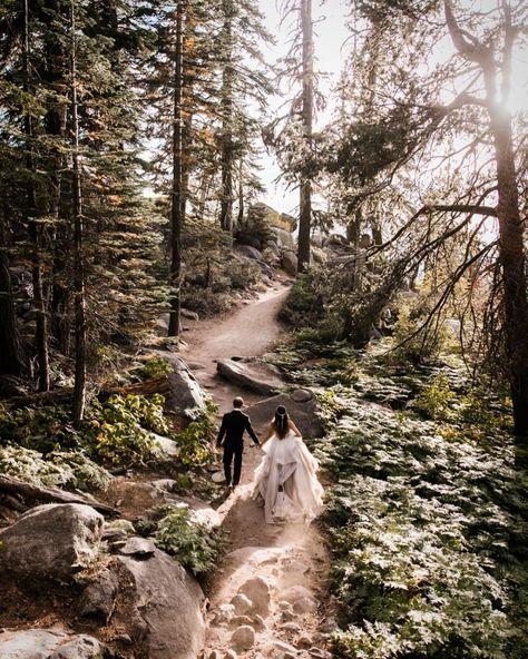 10 Tips for Planning a Camping Inspired Wedding #weddingideas #outdoorwedding #adventurewedding