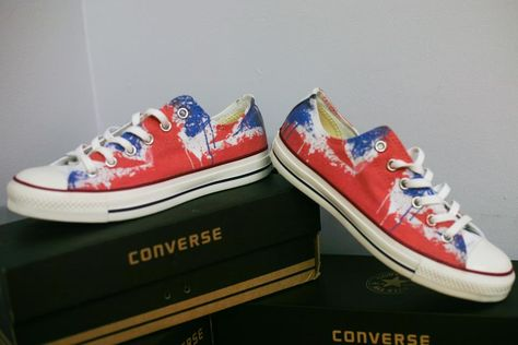 e172e3b3ab0a UK FLAG. ENGLAND. DESIGN YOUR OWN PRINT ON SNEAKERS AT WANNASHOE.COM ...