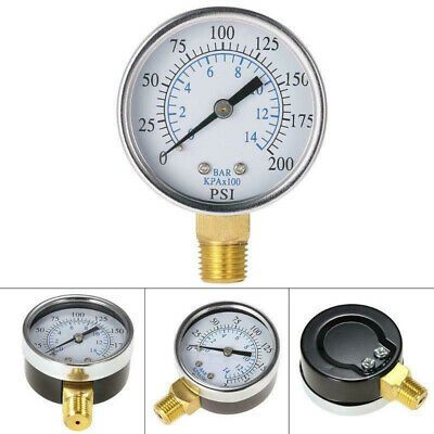 Ad Ebay Url Pressure Gauge Metal Tools Replacement Equipment Manometer Reliable Useful In 2020 Water Pressure Gauge Air Pressure Gauge Oil Water