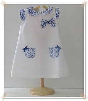 Vestido Piqué Liberty another great idea for that tiny piece of Liberty cotton