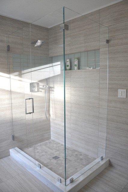 Good Wood Plank Tile Bathroom Beach With Built In Shower Bench Floor | Mom  Bathroom | Pinterest | Wood Plank Tile, Bathroom Beach And Shower Benches