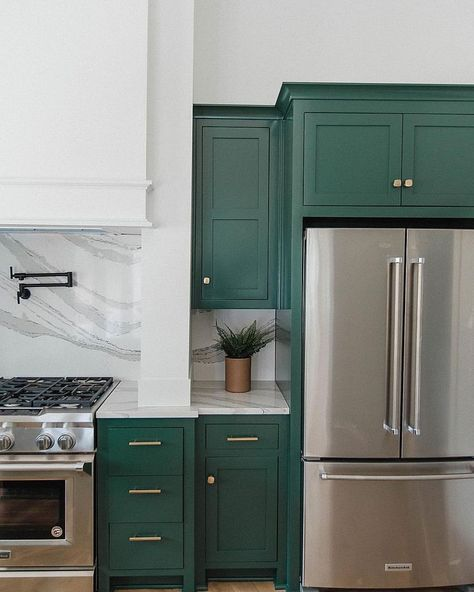 Lafayette Green Bm Kitchen Design Green Kitchen Cabinets Green Kitchen