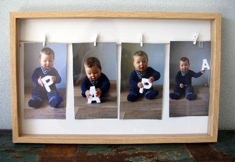 Vaderdag baby fotoshoot