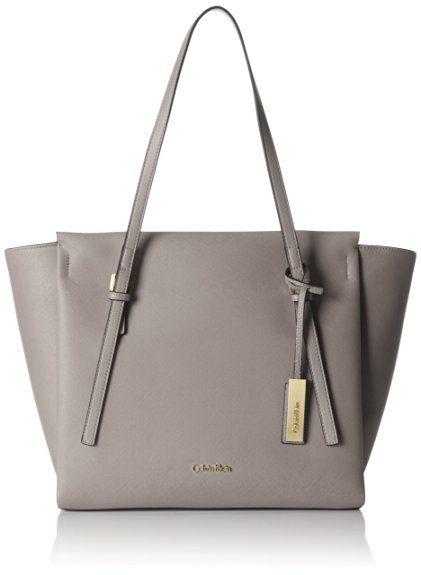Calvin Klein Jeans Women's M4RISSA LARGE TOTE Tote Bag Grey