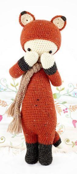 Prim Fox Amigurumi Crochet | Amigurumis | Pinterest