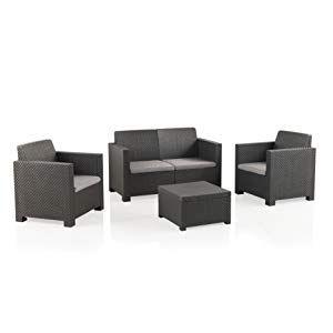 Muebles De Plástico Para Terraza Balcón Y Jardín Mobiliario De Terraza Set De Jardín Muebles Muebles Muebles De Plástico Muebles Sofas