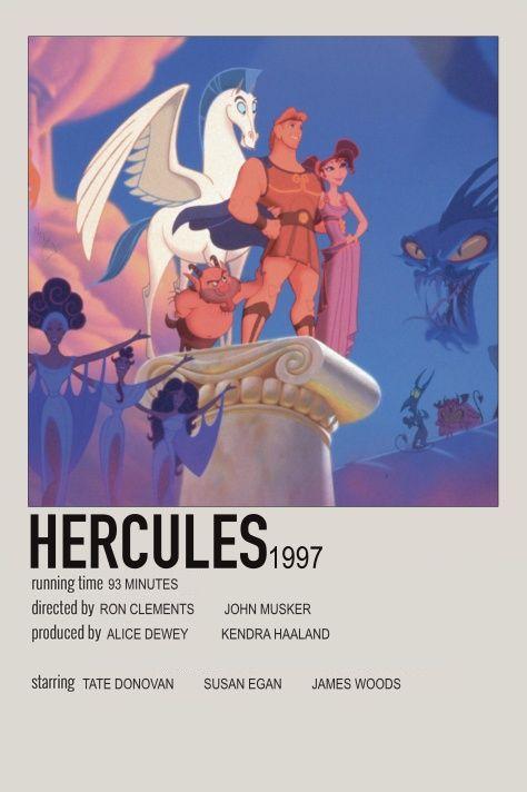 Hercules Minimalist Movie Poster