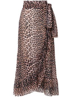 leopard wrap skirt | Style in 2019 | Skirts, Leopard skirt